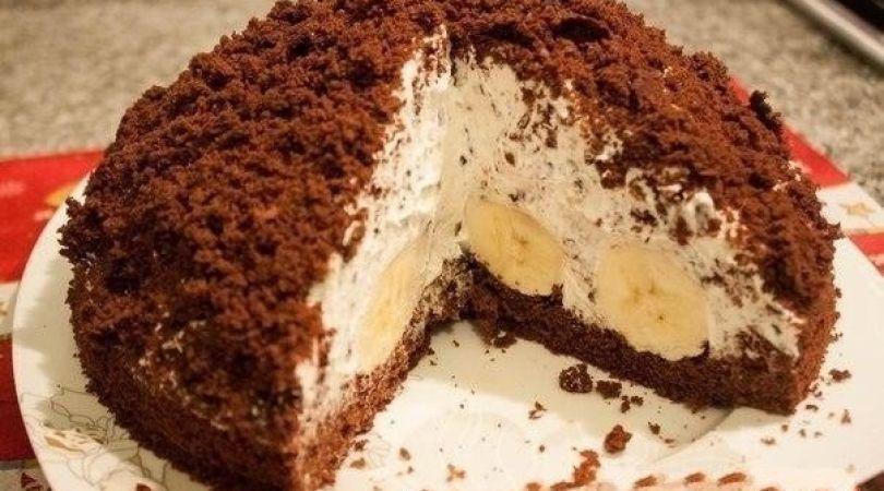 Торт «кротовая норка»